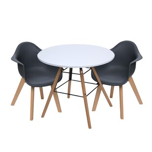 Rebello Kids 3 Piece Writing Table and Chair Set by Isabelle & Max