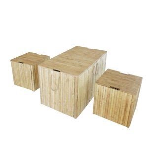 Compare 3 Piece Indoor/Outdoor Solid Wood Box Set By ZEW Inc