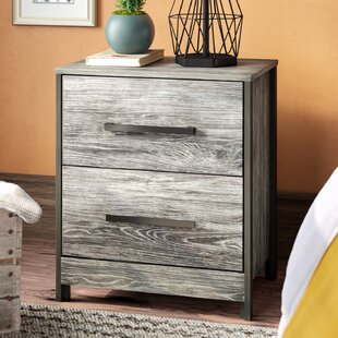 Loon Peak Fuller 2 Drawer Nightstand