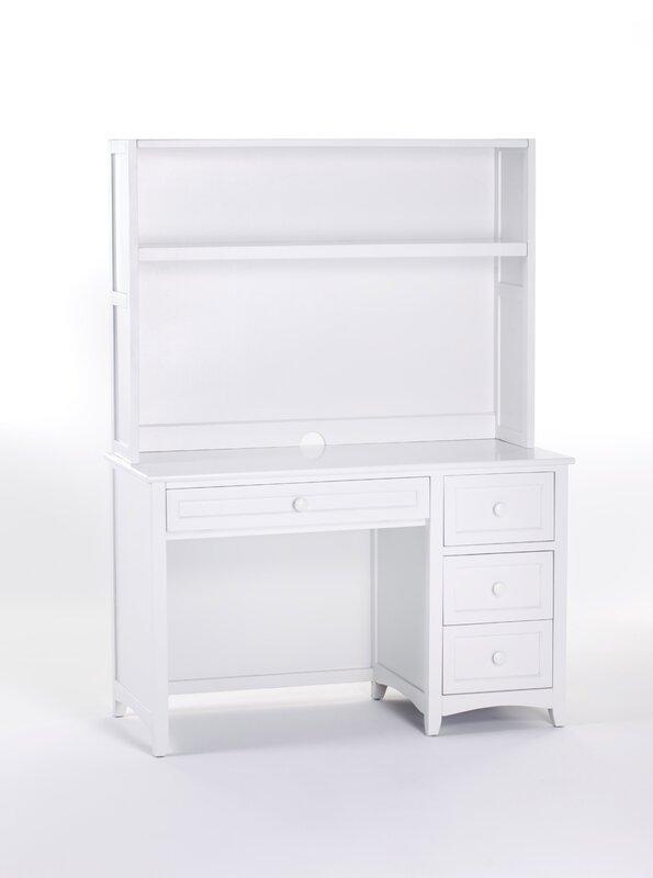 white desk with hutch. Javin Veneer Desk Hutch In White With