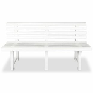 Torrence Plastic Bench By Sol 72 Outdoor