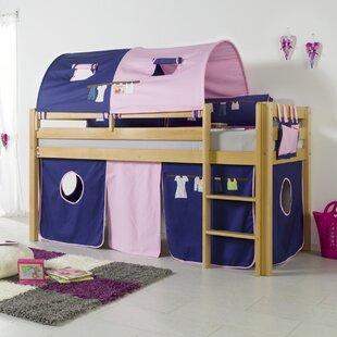 Giordano European Single Loft Bed By Zoomie Kids