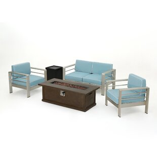 Dukes 5 Piece Sofa Set with Cushions