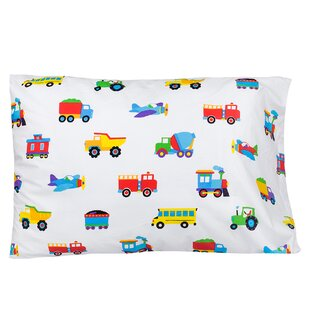 Trains, Planes and Trucks Pillow Case