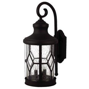 Charlton Home Stockton 3-Light Outdoor Wall Lantern