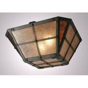 Steel Partners San Carlos Drop Semi Flush Mount Ceiling Light