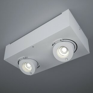ZANEEN design Bridge 2-Light LED Flush Mount
