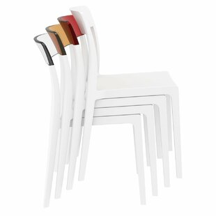 Kliebert Stacking Patio Dining Chair (Set of 2)