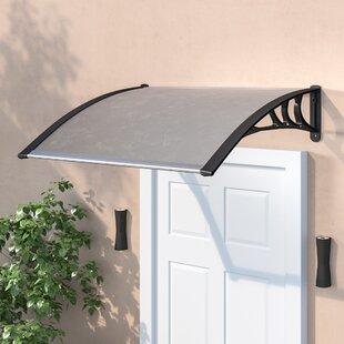 Review Washburn 1m W X 1.2m D Door Canopy