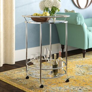 Thompsonville Bar Cart by Alcott Hill