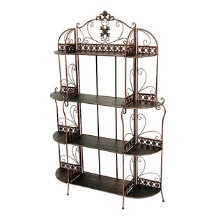 Heather Ann Creations Steel Baker's Rack