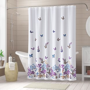Buying Nisbet Butterfly Shower Curtain By August Grove