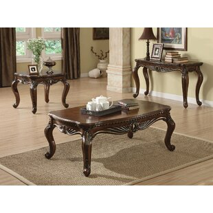 A&J Homes Studio Remington 3 Piece Coffee Table Set