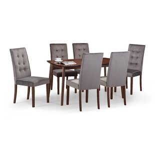 Tahquitz Extendable Dining Set With 6 Chairs By George Oliver