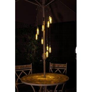 Bonaparte Spiral 10 Light Outdoor Chandelier By Williston Forge