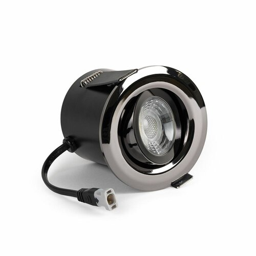 Brecksville LED Dimmable Recessed Housing Symple Stuff Finish: Black Nickel