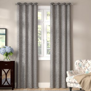 Rummel Abstract Max Blackout Thermal Grommet Single Curtain Panel by Winston Porter