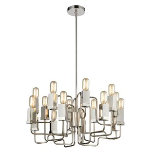Ivy Bronx Cargan 16-Light Novelty Chandel..