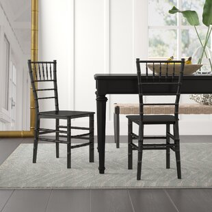 Tioga Dining Chair (Set of 2) (Set of 2) by Bay Isle Home