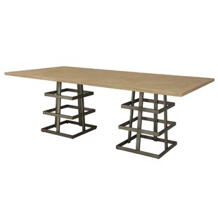 Tulane Dual Pedestal Dining Table by 17 Stories