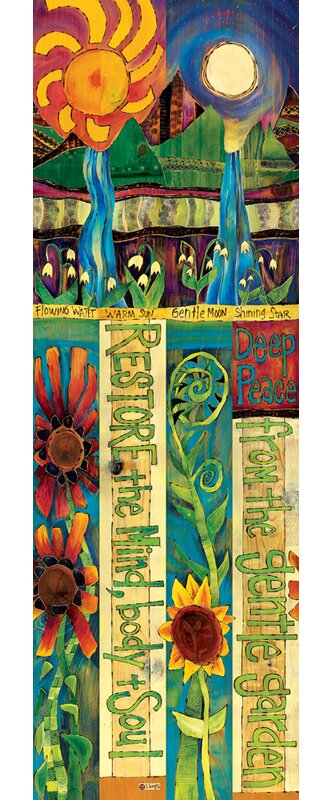 Studio M Healing Garden Art Pole Garden Stake | Wayfair