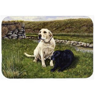 Labradors Kitchen/Bath Mat by Caroline's Treasures