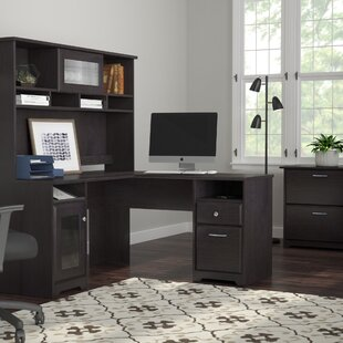Red Barrel Studio Hillsdale 3 Piece L-Shape Executive Desk Office Suite