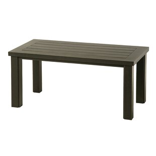 Sebrina Rectangular Aluminum Coffee Table Online Reviews