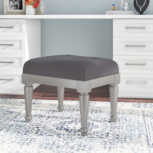 Willa Arlo Interiors Guillaume Upholstered Vanity Stool