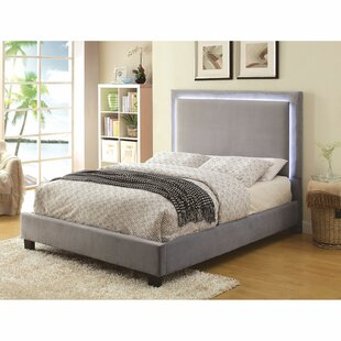 Compare prices Inverness Upholstered Platform Bed by Mercer41 Reviews (2019) & Buyer's Guide