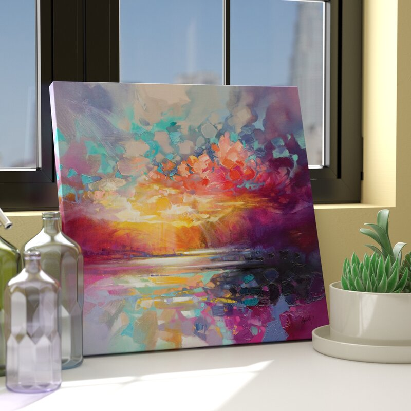 Skye Fragments by Scott Naismith - Wrapped Canvas Painting Print