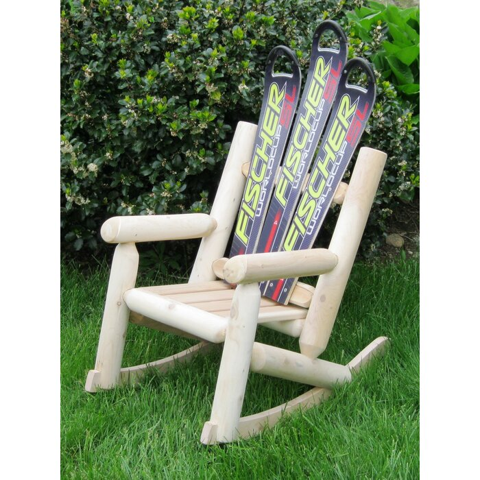 Brilliant Snow Childrens Board Wood Rocking Adirondack Chair Machost Co Dining Chair Design Ideas Machostcouk