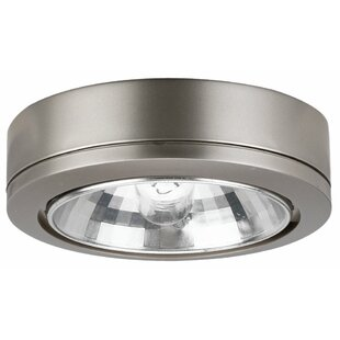 Ambiance Fluorescent Under Cabinet Puck Light by Sea Gull Lighting