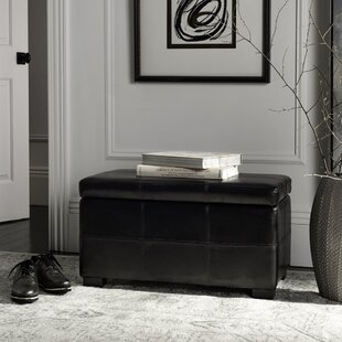 Safavieh Lucas Leather Storage Bench
