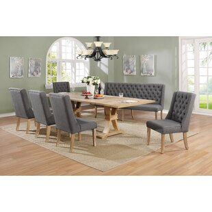Shakopee 7 Piece Extendable Dining Set Gracie Oaks