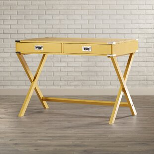 Review Marotta Campaign Writing Desk by Mercury Row