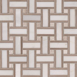 Renaissance Marble Mosaic Tile in White