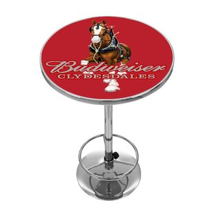 Trademark Global Budweiser Clydesdale Pub Table