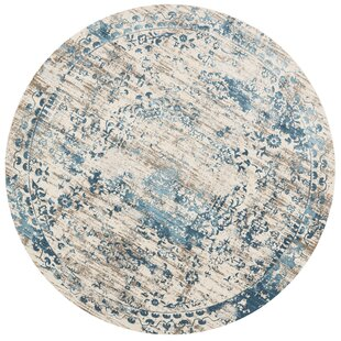 Abella Ivory Area Rug by House of Hampton
