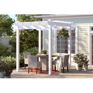 Davis 7.6 Ft. W x 7.6 Ft. D Vinyl Pergola by Sol 72 Outdoor