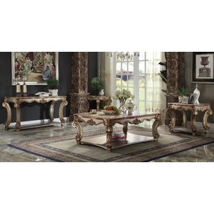 Vendoma 3 Piece Coffee Table Set