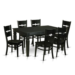 Weston 7 Piece Dining Set by Wooden Impor..