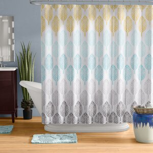 Utterback Printed Shower Curtain