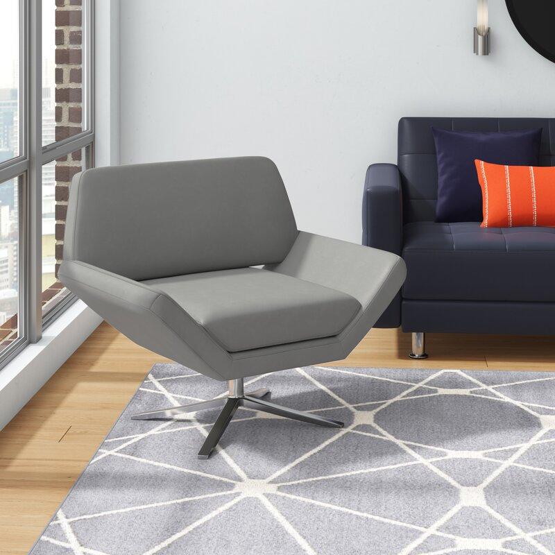 Wade Logan Cohen Swivel Lounge Chair Reviews Wayfair