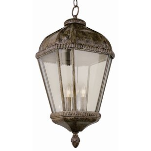 Best Review 4-Light Outdoor Hanging Lantern By TransGlobe Lighting