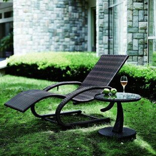 Sylt Reclining Sun Lounger By Sol 72 Outdoor