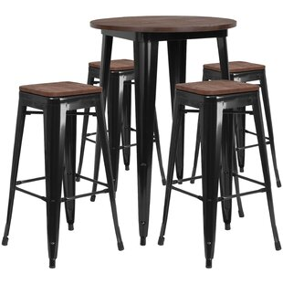 Pride 5 Piece Pub Table Set Williston Forge