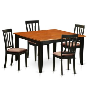 Parfait 5 Piece Extendable Dining Set by ..