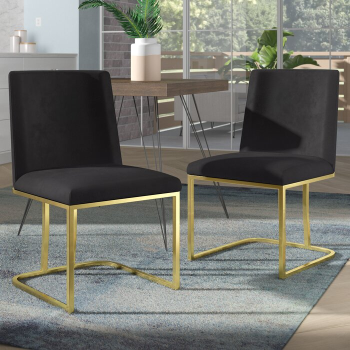 Fantastic Noah Seppich Upholstered Dining Chair Ncnpc Chair Design For Home Ncnpcorg