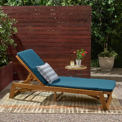 Wood Outdoor Chaise Amp Lounge Chairs You Ll Love In 2020